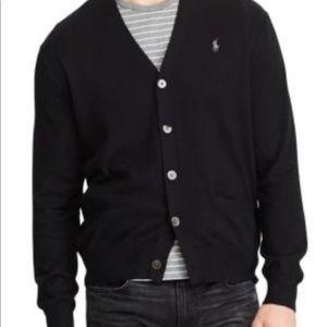 Polo Ralph Lauren V-Neck Men's Cardigan Medium